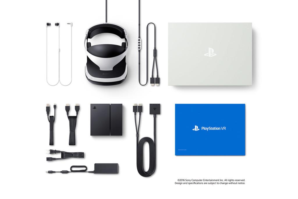 PlayStation VR Paketinhalt