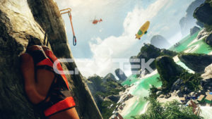 The Climb VR Brillen Spiel
